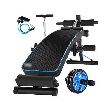 Máquina del abdomen del banco de la pesa de gimnasia equipo de la aptitud de las ...