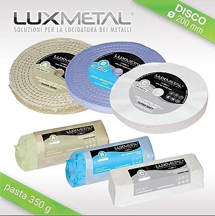 Lux Metal Kit Pulido 02/200 mm limpiar para pulir limpieza metales ...
