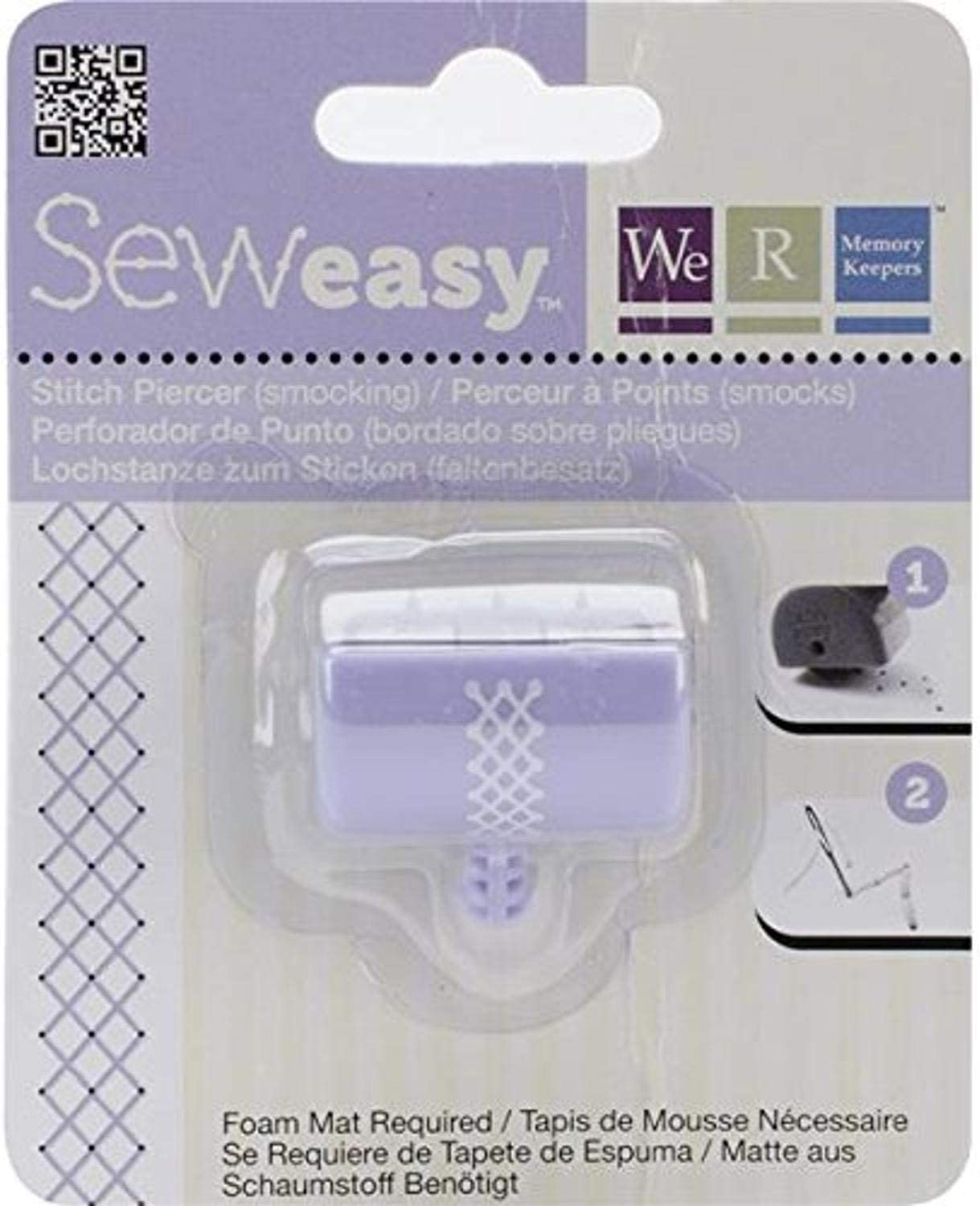 Smocking We R Memory Keepers 71097-4 Stitch Piercer for Paper Crafting