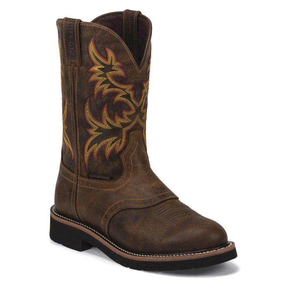 Justin Boots メンズ US サイズ: 11 EE - Wide カラー: ブラウン  B01C40R9PW