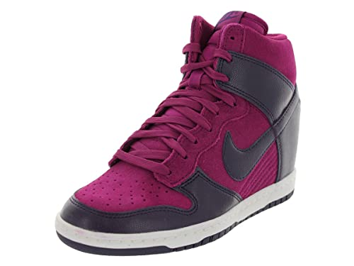 Nike Damas Cuña Sneakers Wmns Dunk Sky HI Púrpura dinastia/Púrpura dinastia, Size Damen Schuhe:38: Amazon.es: Zapatos y complementos
