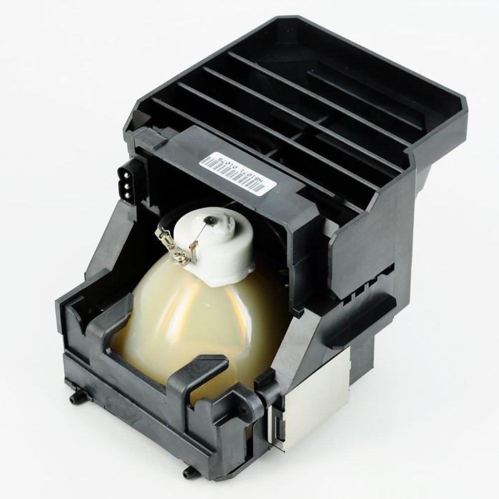 AWO Original Bulb Inside 610-335-8093 POA-LMP116 Replacement Lamp with Housing for SANYO PLC-ET30L PLC-XT35 PLC-XT35L;Eiki LC-SXG400 SXG400L XG400 XG400L
