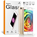 Guilian iPhone 7 Plus Screen Protector Tempered 9HD Glass with TPU Shell (iPhone 7 Plus Screen Protector)