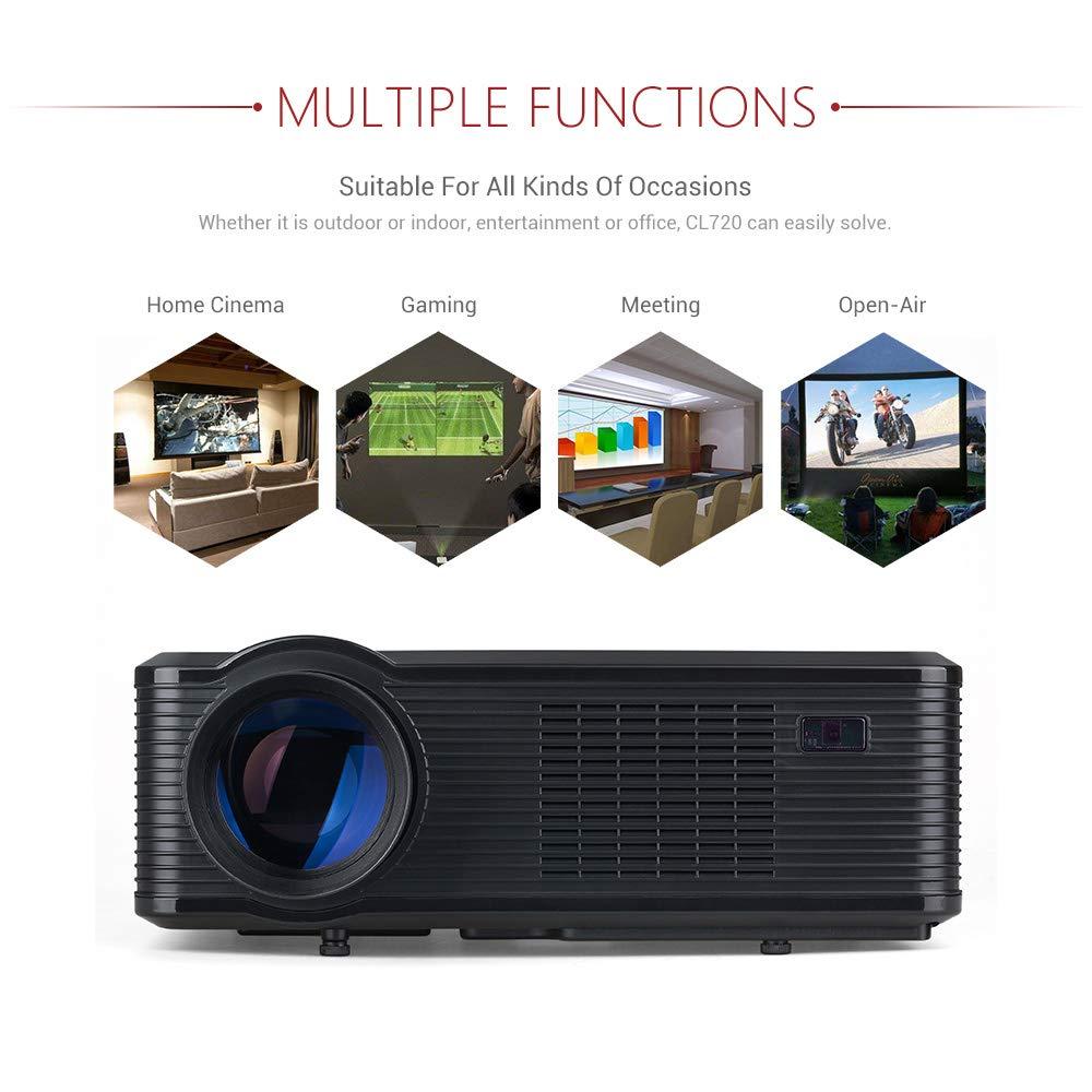HD Home Theater Projector 3000 lúmenes llevó la Fuente de luz de ...