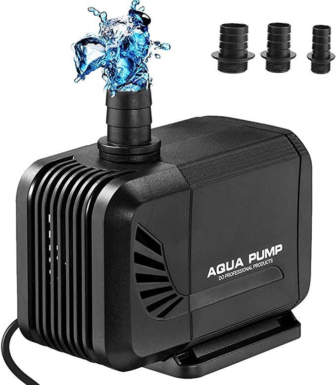 200L//H Ultra Silent Brushless Submersible Pump Water Pump for Pond Fountain Fish Tank Garden ibasenice Mini USB Pump Submersible Pump