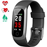 yamay fitness armband wasserdicht ip68 fitness tracker mit. Black Bedroom Furniture Sets. Home Design Ideas