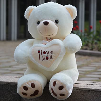 Amazon Com Yxcsell 3 Ft 35 Inches White Teddy Bear Stuffed Animal