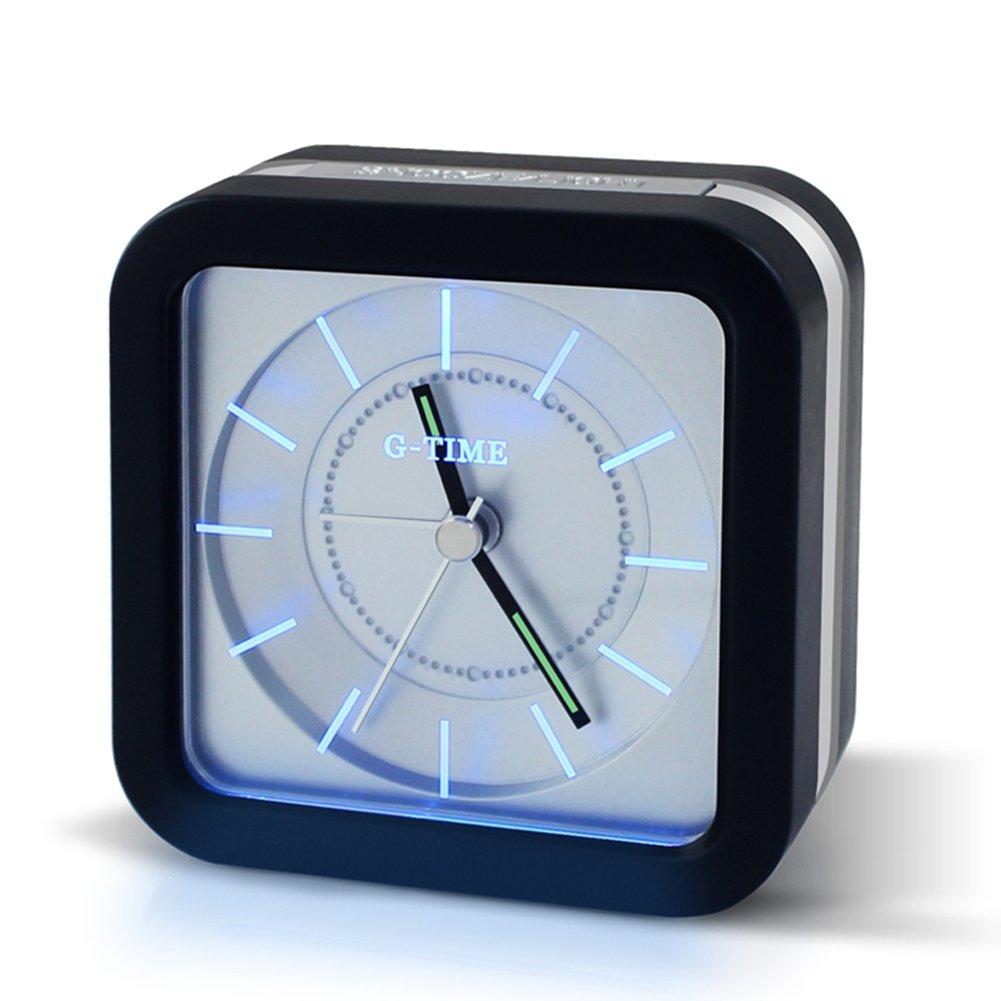 TIIMER LED Sveglia Da Comodino Portatili Orologi Con Silenzioso & Luce Notturna Funzione, A