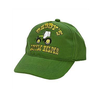 6e4d189078c5b John Deere  quot Daddy s Little Helper quot  Toddler Green Baseball Cap  Style Hat ...