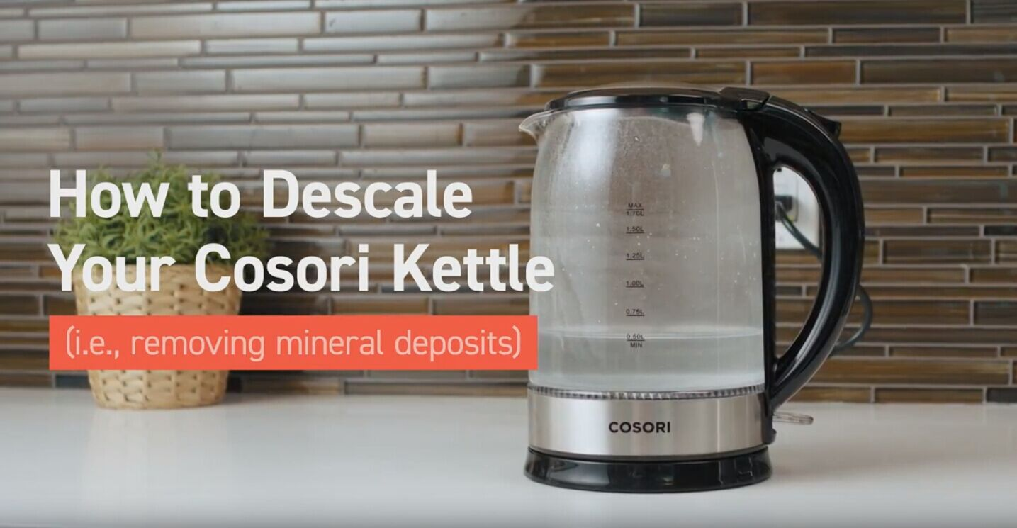 How To Descale Your Cosori Electric Kettle