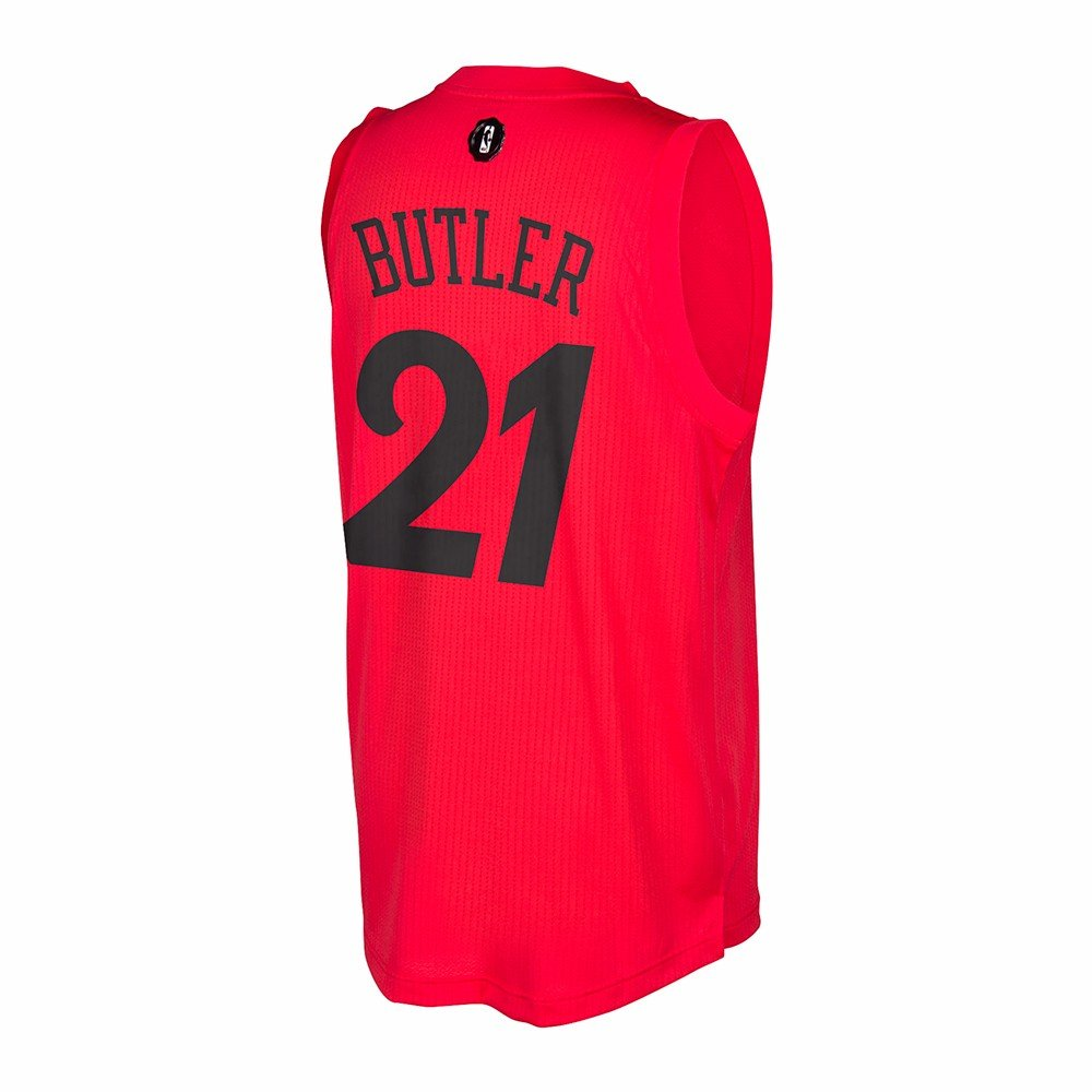Amazon.com: adidas Jimmy Butler #21 Chicago Bulls Adult 2016 X-Mas ...
