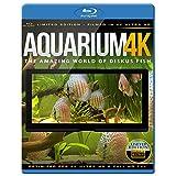 Aquarium 4K - The Amazing World Of Diskus Fish [Blu-ray]