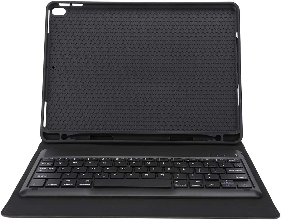 ASHATA Funda de Tableta Funda de Tableta de Cuero para Negocios con Teclado inalámbrico Bluetooth para iPad Pro 10.5 Pulgadas