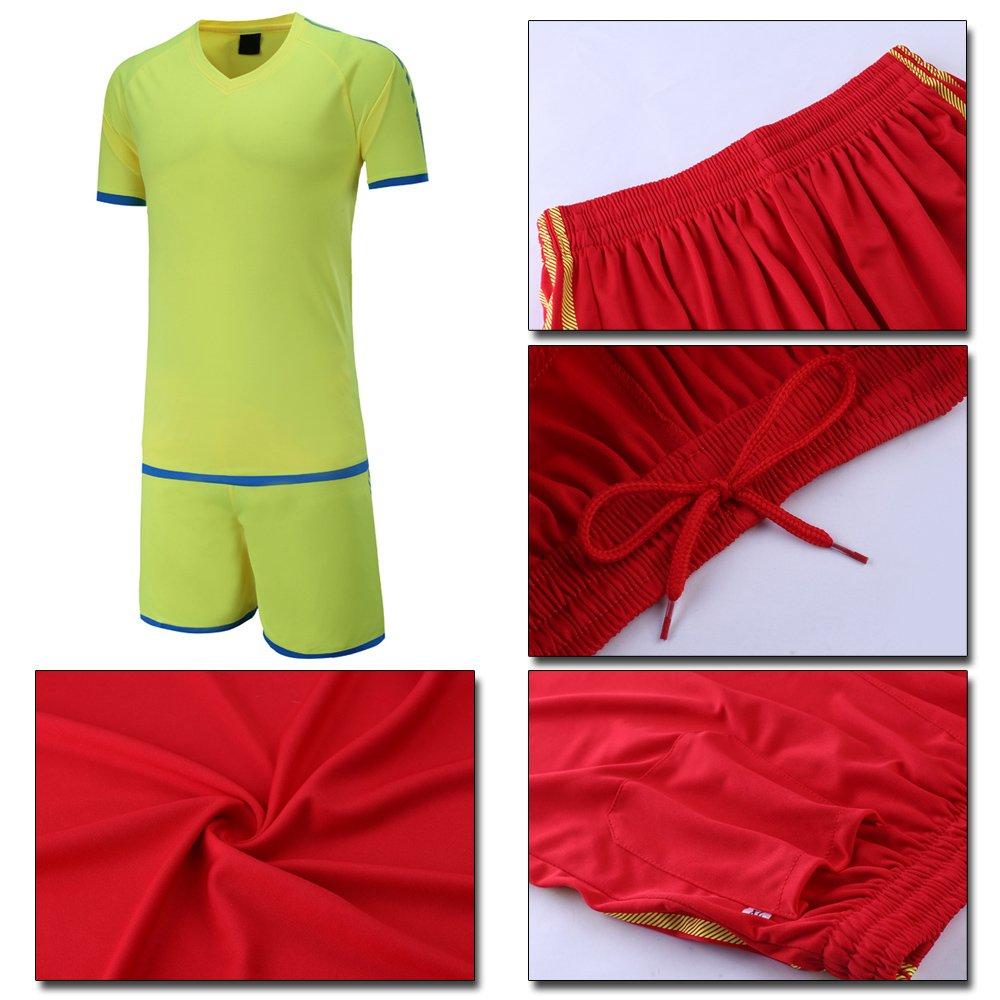 KINDOYO Camisa de fútbol para Hombres y niños 05adf25b7077d