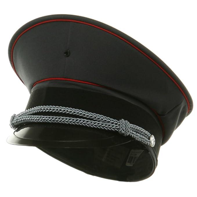 J sombrero Gorro militar hombre - Gris -  Amazon.es  Ropa y accesorios 4ee2204d38c