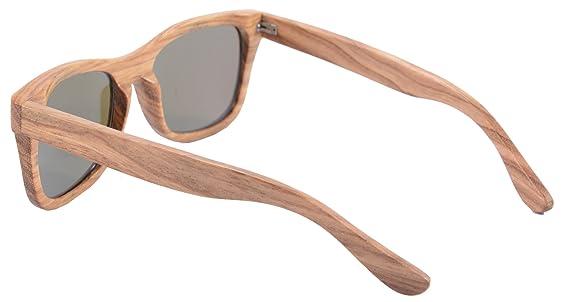 SHINU Holz-Sonnenbrille-Frauen-Weinlese-Holzplatz Brille Polarized Objektiv SH6001 iYWkoT