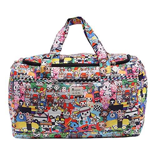 JuJuBe Starlet Large Overnight Duffle Bag, Tokidoki Collection - Sushi Cars ()