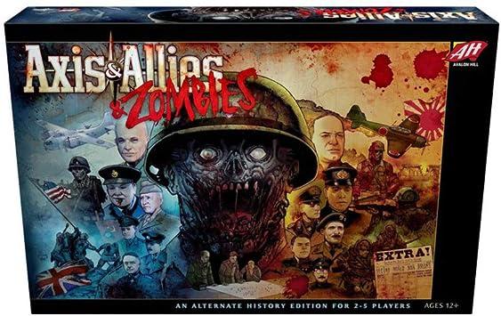 Avalon Hill / Wizards of the Coast: Axis & Allies and Zombies - Juego de Mesa, Multicolor (en inglés) (C50100000): Amazon.es: Juguetes y juegos