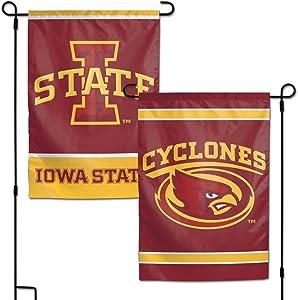 "WinCraft NCAA Iowa State Cyclones Garden Flag, 12""x18"", 2-Sided"