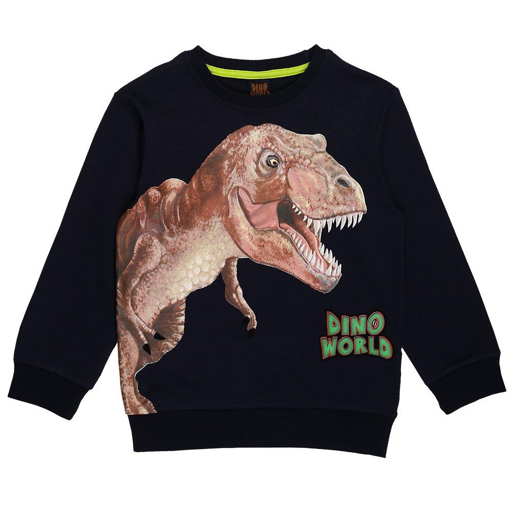 DINO WORLD Jungen Sweatshirt, Blau