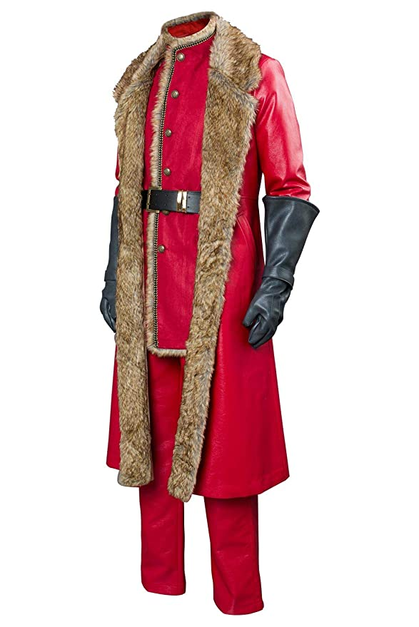 Amazon.com: Disfraz de Papá Noel para hombre, diseño de Papá ...