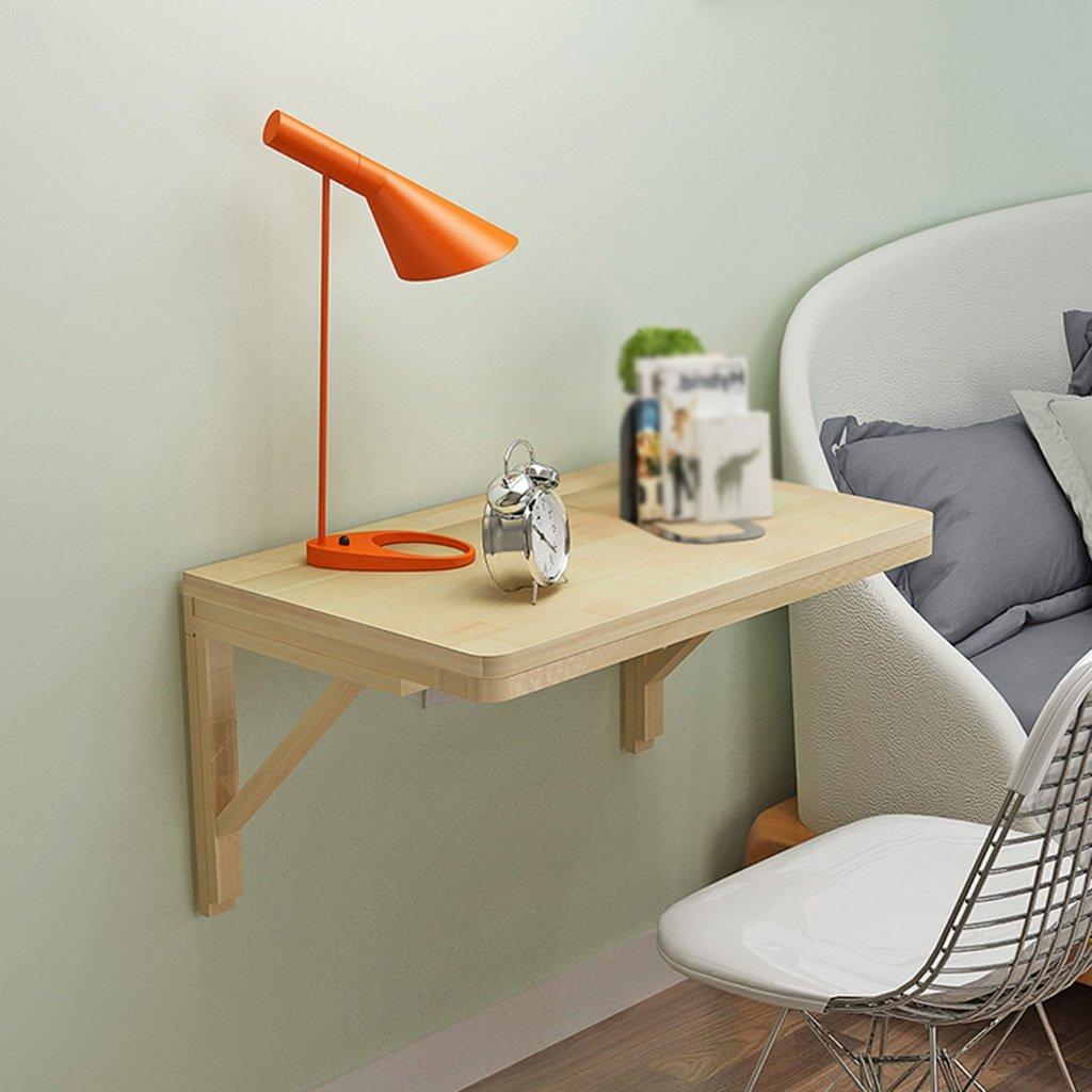 LXF 折りたたみテーブル ソリッドウッドの壁のテーブルの折りたたみテーブルのダイニングテーブルの壁コンピュータの机の学習テーブルの本松の折り畳み式 (サイズ さいず : 60*45cm) B07BTWNNC9 60*45cm 60*45cm