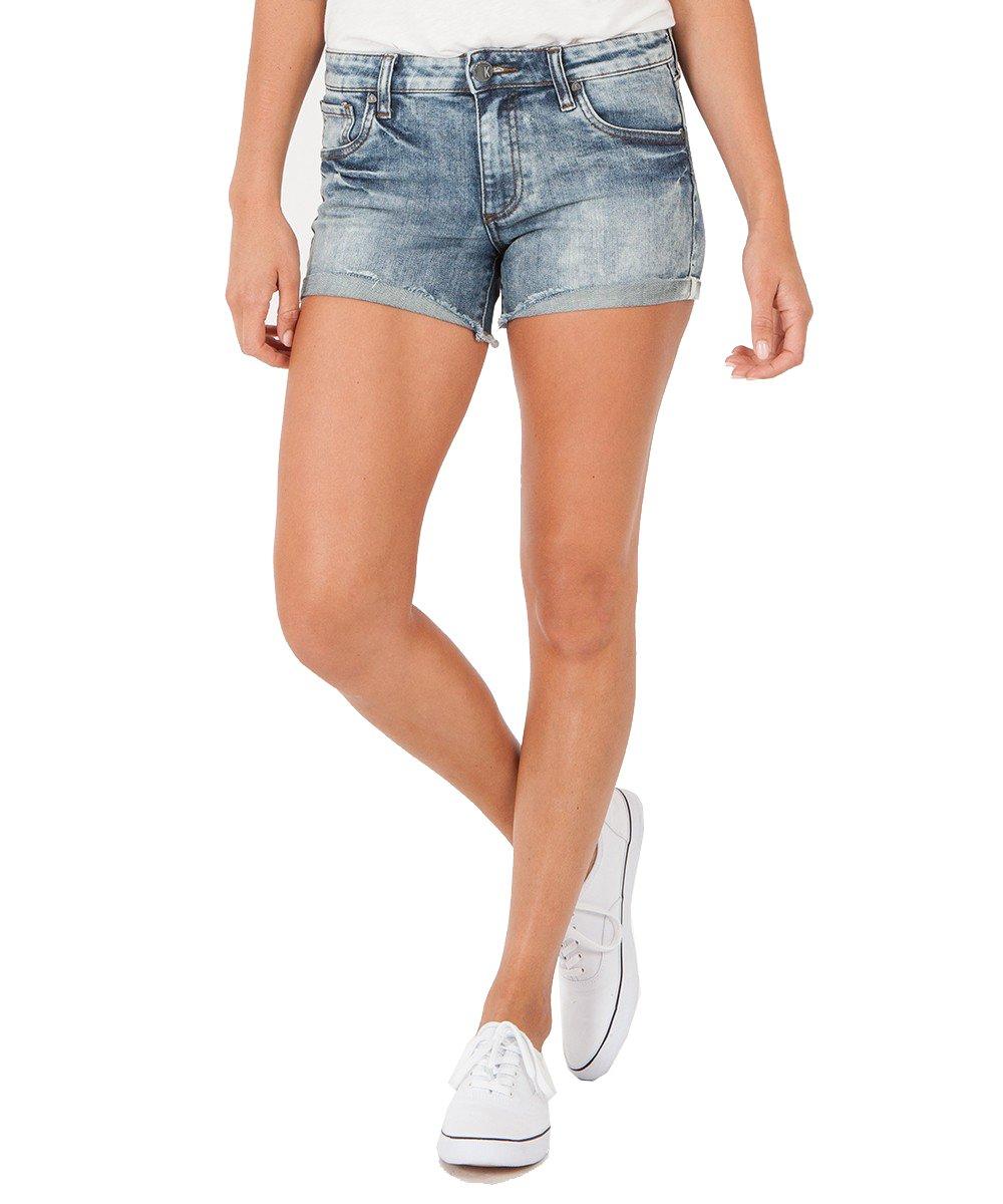 KUT from the Kloth Women's Gidget High Rise Fray Shorts (Heighten, 4)