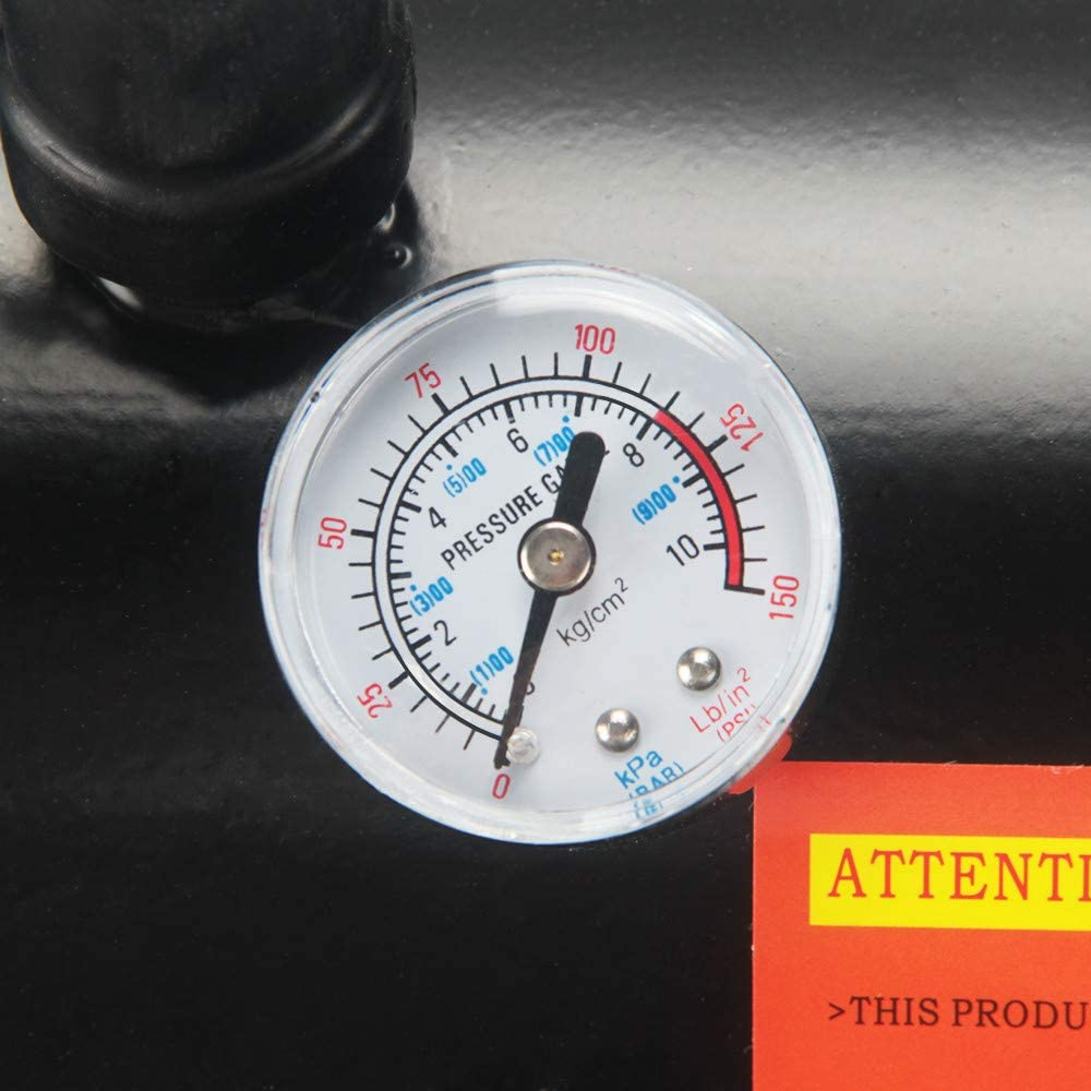 150PSI DC 12V Air Compressor with 6 Liter Tank for Train Horns Anbull Trumpet Air Horn Compressor
