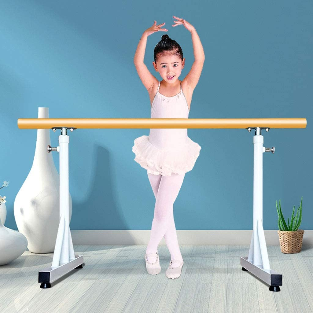 Height Adjustable Ballet Stretch Ladder Portable Professional Dance Bar Freestanding Mobile Adult Child Leg Press Bar JLFSDB Ballet Barre Bar