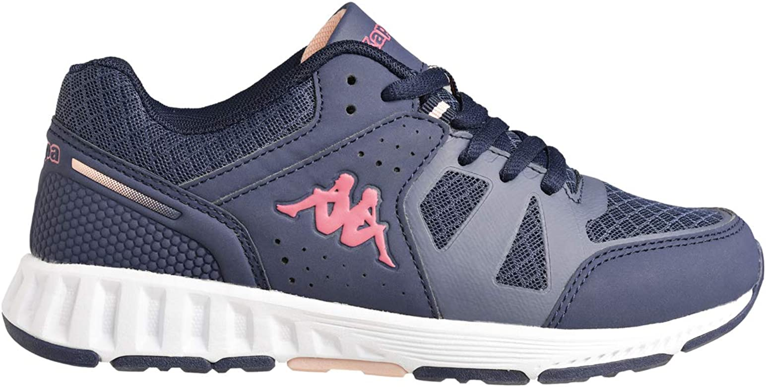 Kappa Birdy Lace, Zapatillas Deportivas Unisex niños, Azul/Rosa/Naranja: Amazon.es: Zapatos y complementos