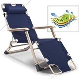 Amazon.com : LQ Folding Chair, Ultra-thick Square Tubular ...