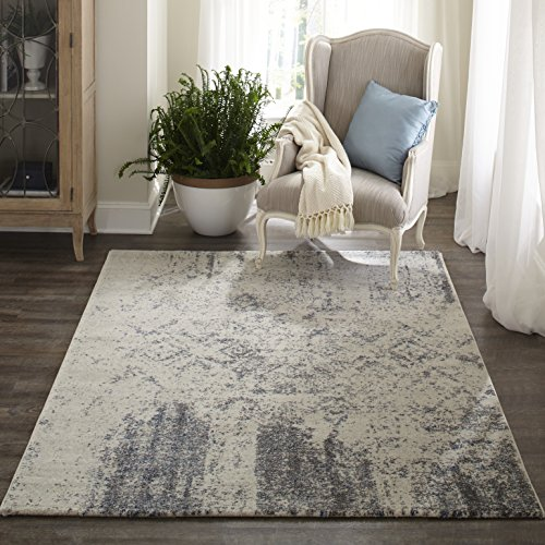 - Momeni Rugs LOFT0LO-01IVY2030 Loft Collection, Contemporary Area Rug, 2' x 3', Ivory