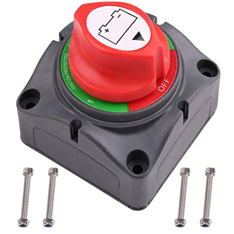 Car & Truck Parts Dual Pack 12V 200 amp Car Marine Boat Battery Isolator Switch Cut Off Disconnect