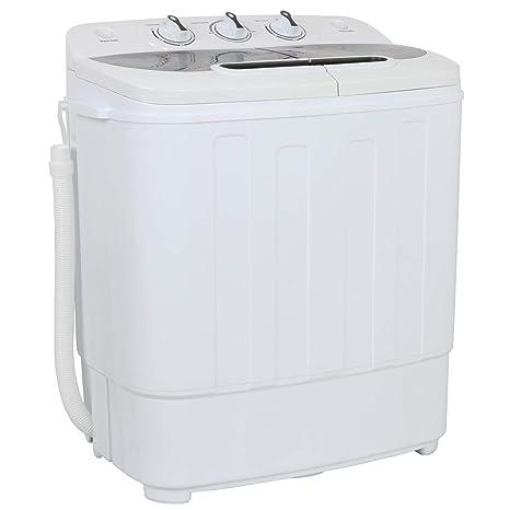 ZENY - Mini lavadora portátil doble con capacidad para 3 kg con ...