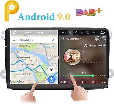 Android 9.0 estéreo de coche doble 2 DIN 9