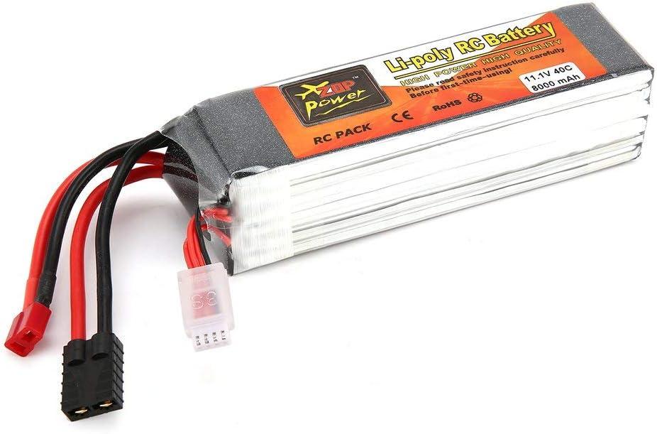 ZOP Power 11.1V 8000mAh 40C 3S 1P Lipo Batteria T TRX Plug ...