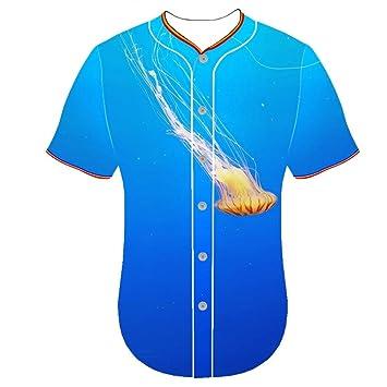 Camiseta de manga corta con diseño de maillot de béisbol, manga ...