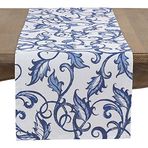 SARO LIFESTYLE Essence Bleu Collection Table-Toppers, 16
