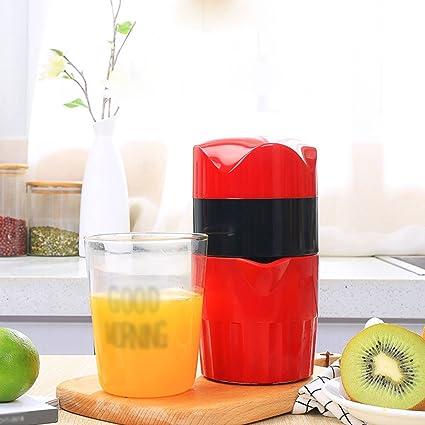 JKYQ Exprimidor Saludable con Proceso de prensado en frío Exprimidor de Naranja de Mano Cocina o