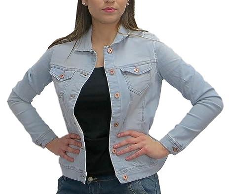 f46d7c3a3ccd Esmara Damen Denim Jacket Jeansjacke Women Jacket Jeans Jacke  Amazon.de   Bekleidung