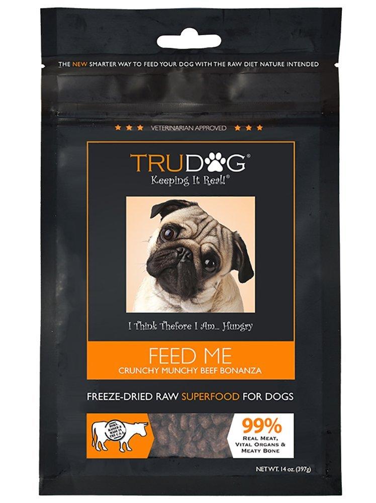 TruDog Feed Me Crunchy Munchy Beef Bonanza (14 oz) by TruDog