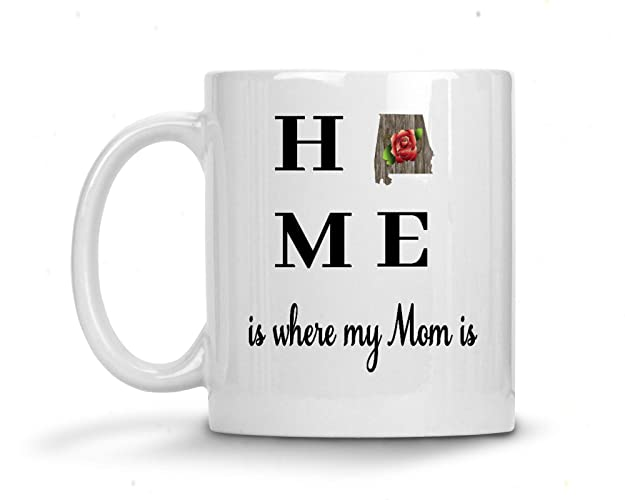 Amazoncom Mom State Coffee Mug Home Is Where My Mom Is Handmade
