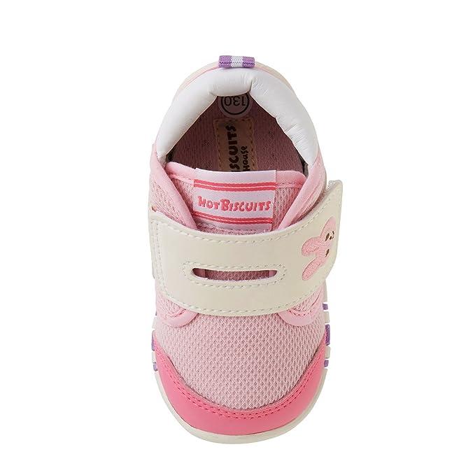 0019c3926ee9 Amazon.co.jp: ミキハウス ホットビスケッツ (MIKIHOUSE HOT BISCUITS) ベビーシューズ 71-9301-267  12cm ピンク: ベビー&マタニティ