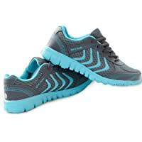 DUOYANGJIASHA Women's Athletic Mesh Breathable Casual Sneakers Lace Up Running Comfort Sports Fashion Tennis Shoes