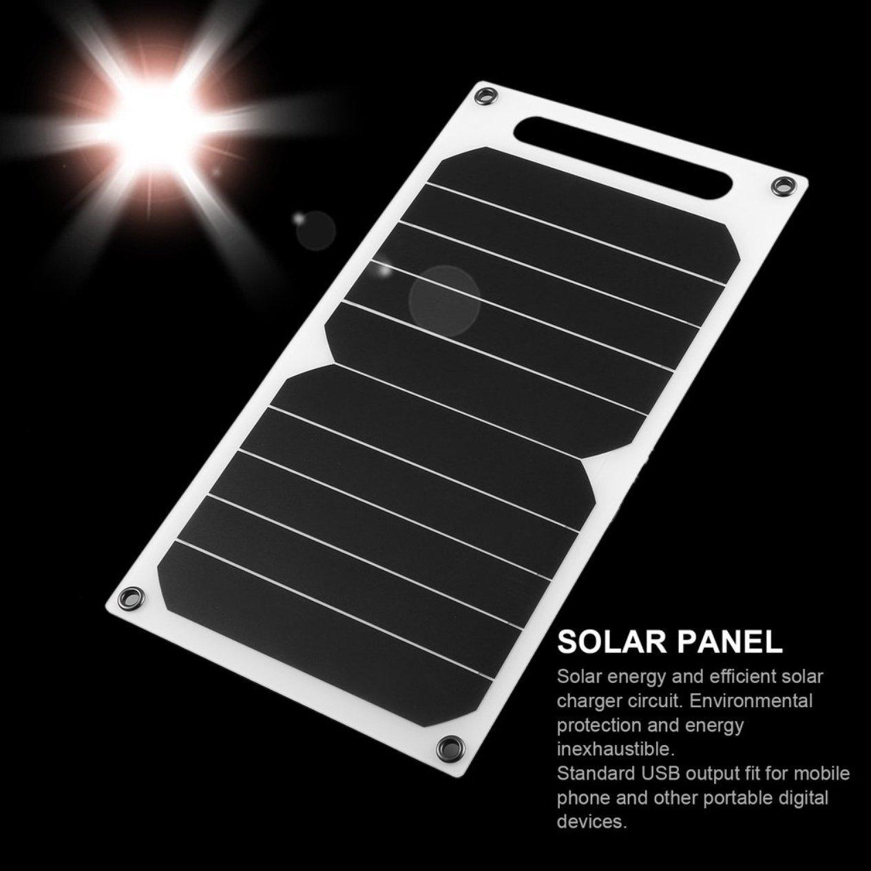5v 5w Portable Solar Lade Panel Leichte Power Usb Mobile Charger The Circuit Elektronik