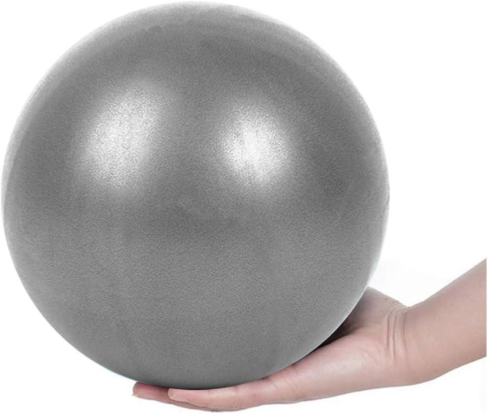 am/éliore l/équilibre de la Paille Gonflable /à la Maison, Yoga Pilates Ballon dexercice Mini 9,8 Pouces pour lentra/înement d/équilibre de stabilit/é pour la th/érapie Physique dentra/înement de Base