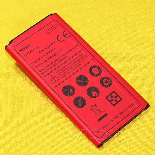 (4450mAh Extended Slim Rechargeable Grade A Battery for Samsung Galaxy S5 Active SM-G870A AT&T Cell Phone USA)