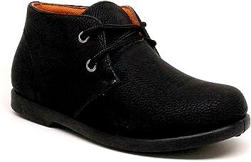 3ca825d3f3a1 Steven Ella Boy s Faux Leather Lace Up Casual Shoes