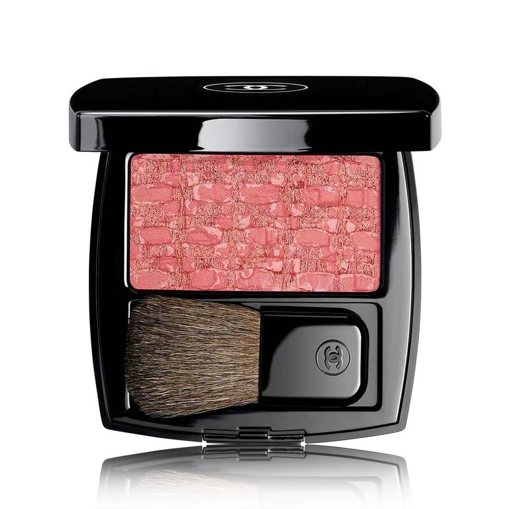 CHANEL LES TISSAGES DE CHANEL BLUSH DUO TWEED EFFECT LIMITED EDITION # 120 - TWEED PRODIGIOUS