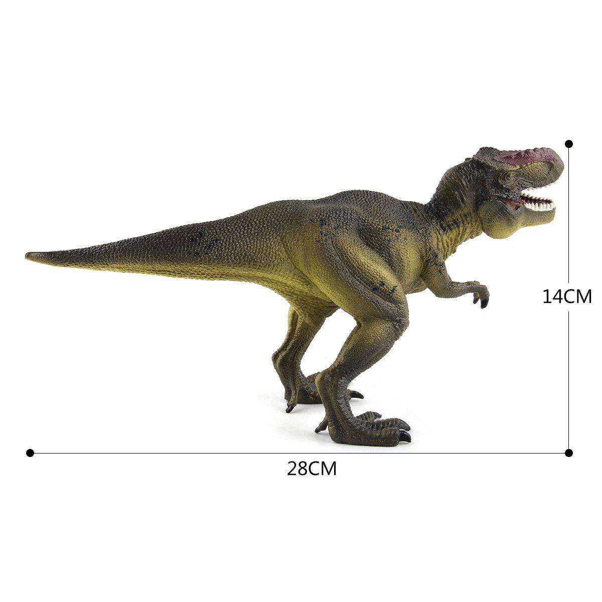 T-Rex Dinosaur Figures 11 Large Tyrannosaurus Rex Realistic Plastic Detailed Dinosaur Toys for Kids CEKtoys